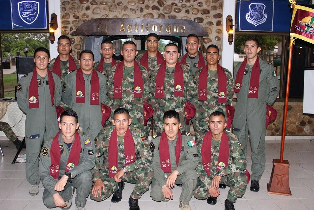 colombian air force trains latin american air forces on piloting