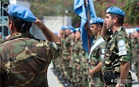 Collaborating in over two-thirds of all peace operations developed by the U.N. since the operations began, Argentine participation in Peacekeeping Operations (PKO) has a long history starting in 1958, with more than 40,000 personnel deployed. (Photo: Argentine Ministry of Defense)