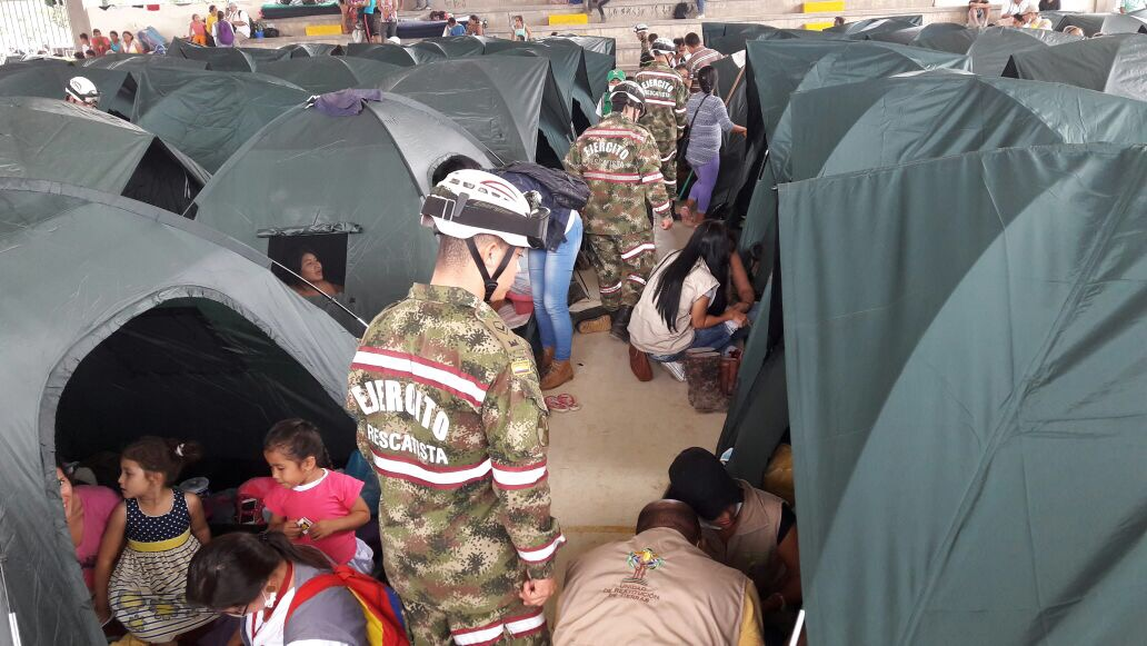 Colombia Earns Un Certification In Urban Search And Rescue