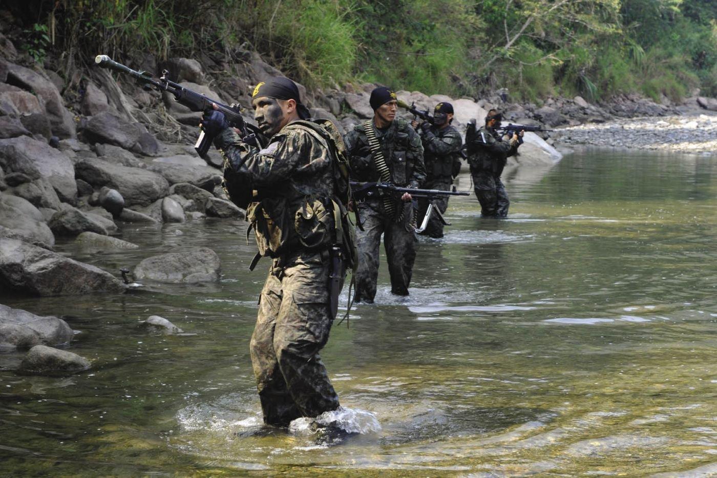 Militares en accin