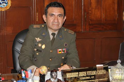 Las Fuerzas Armadas del Perú conscientes de la educación en derechos humanos y derecho internacional humanitario