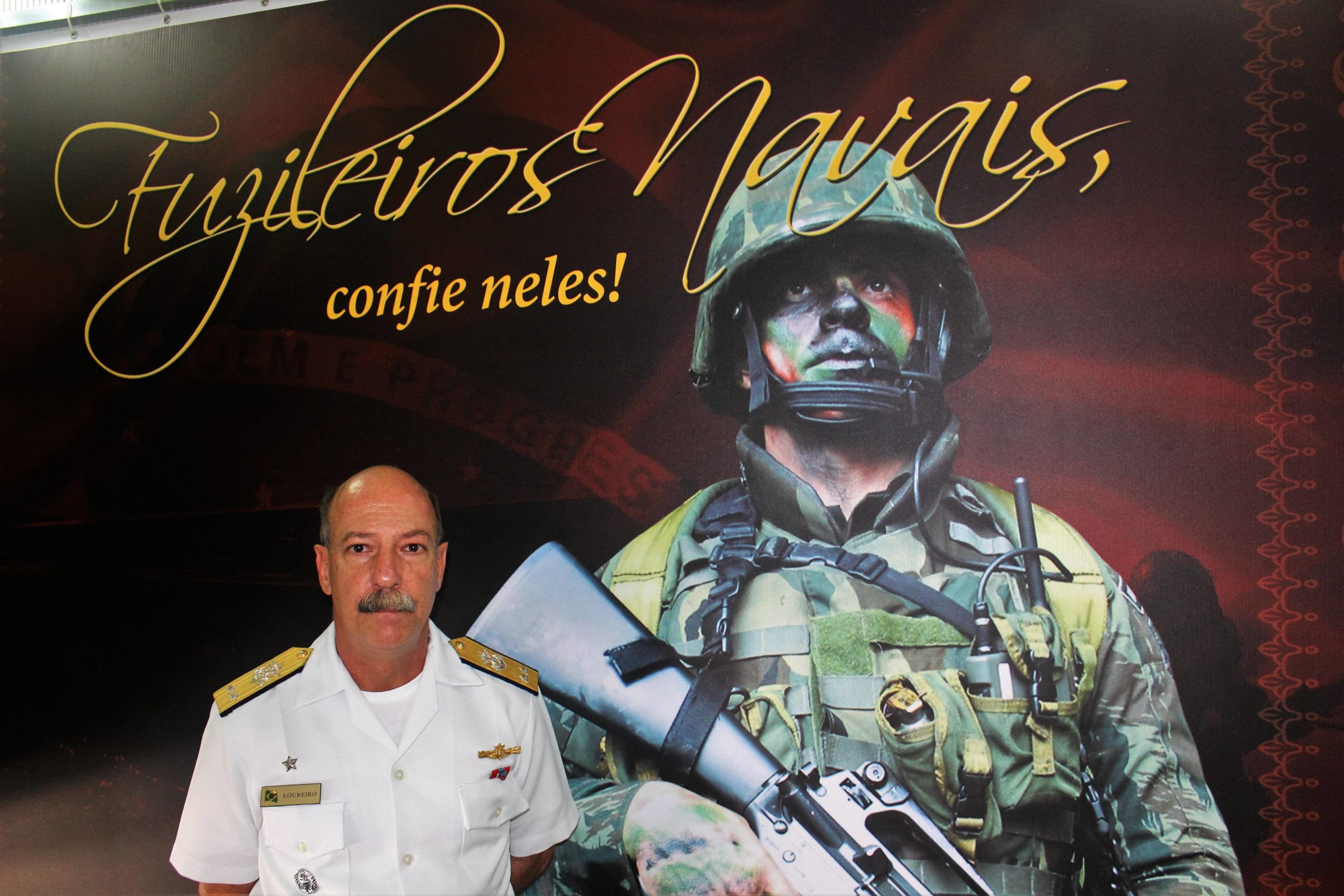The Marine Amphibious Division, the Brazilian Navy's Infantry
