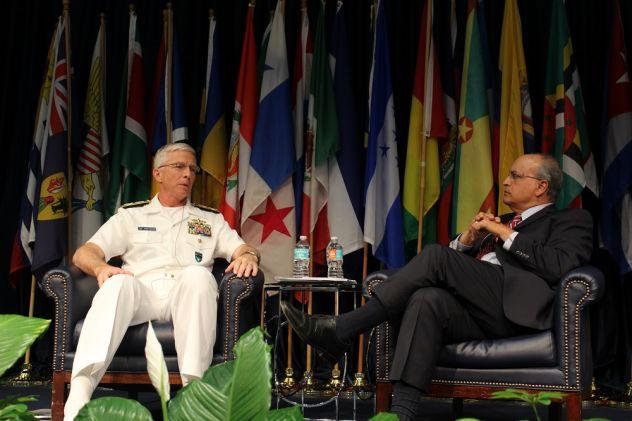 El Almirante Faller, jefe del Comando Sur de los EE. UU., se muestra optimista sobre crisis venezolana