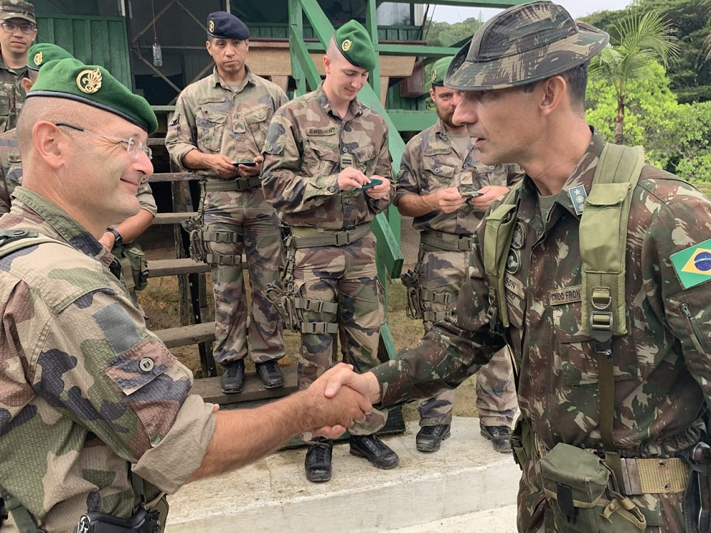 Brazilian Army Participates in Operation at the Border with French Guiana