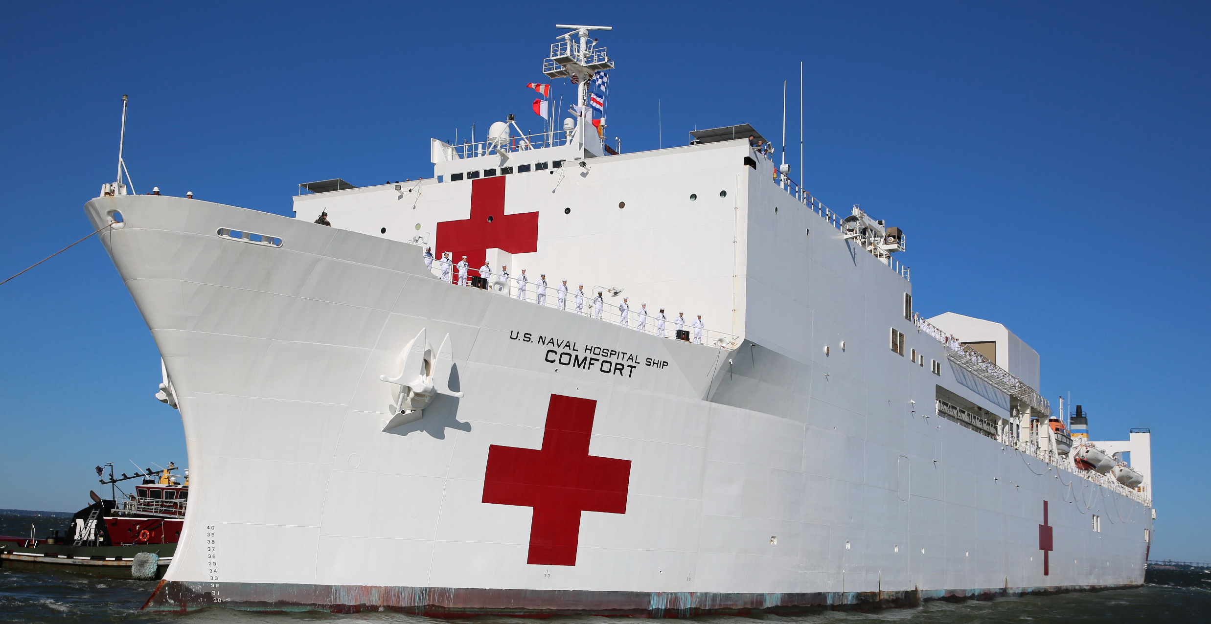USNS Comfort Deploys to Provide Medical Assistance, Including to Venezuelans in Need