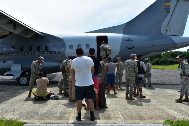 Armada de Colombia captura extranjeros vinculados al narcotráfico