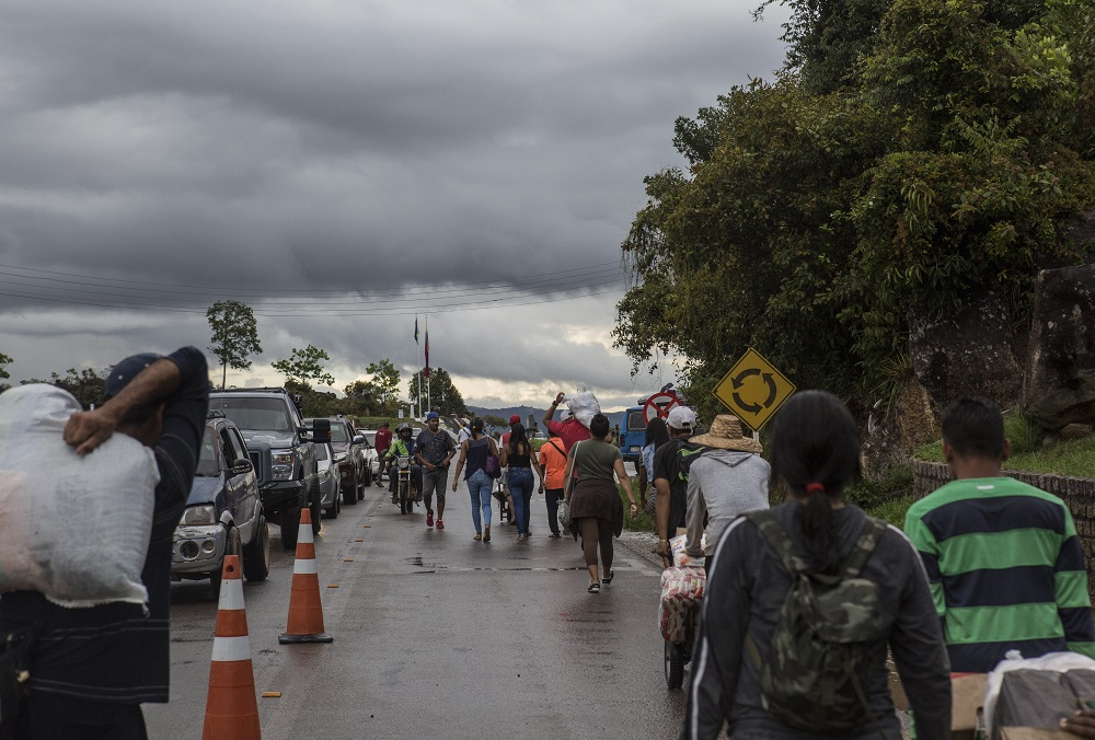 The Role of the Brazilian Armed Forces in Support of Venezuelan Refugees