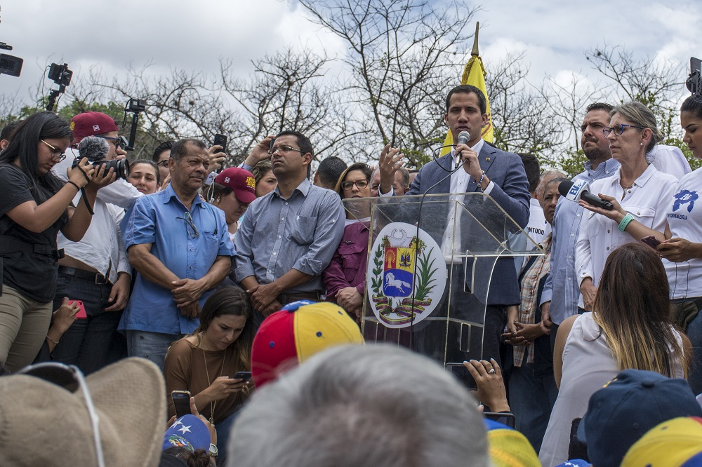 Venezuelan Regime Attacks Military, Opposition Leaders