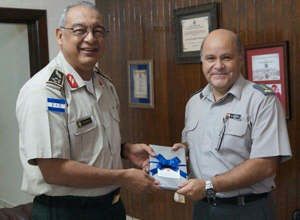 Honduras and Chile Strengthen Cooperation on Defense and Security