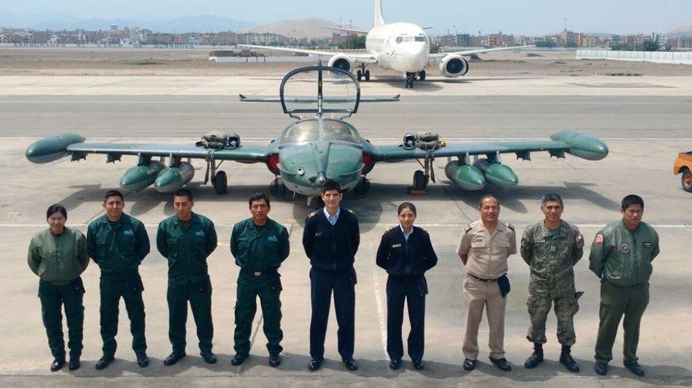 Peruvian Air Force Upgrades Fifth A-37B Aircraft