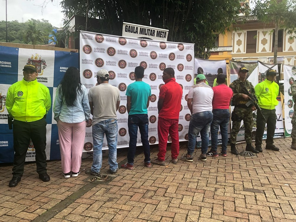 Colombian Armed Forces Capture Eight Members of Los Puntilleros