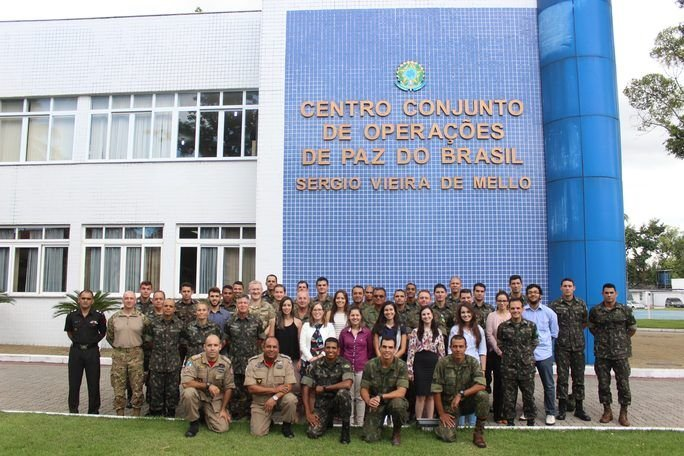 Brazilian Joint Center for Peacekeeping Operations Trains Military Personnel and Civilians