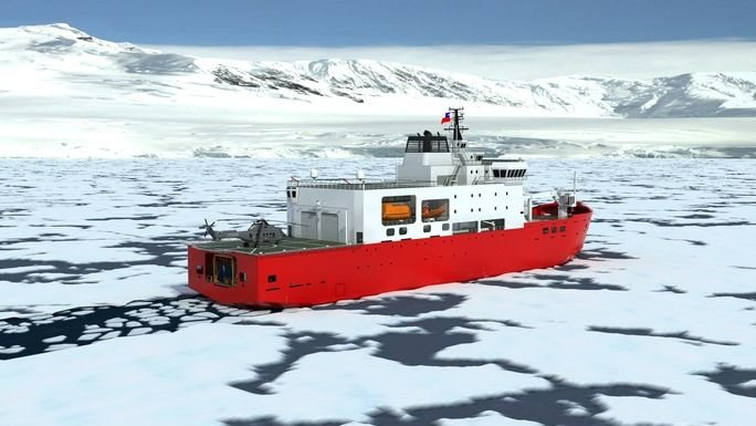 Chile Builds Its First Icebreaker Ship
