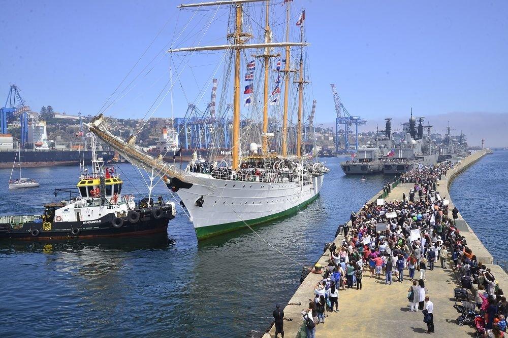 Training Ship Esmeralda Fulfills Long-lasting Tradition