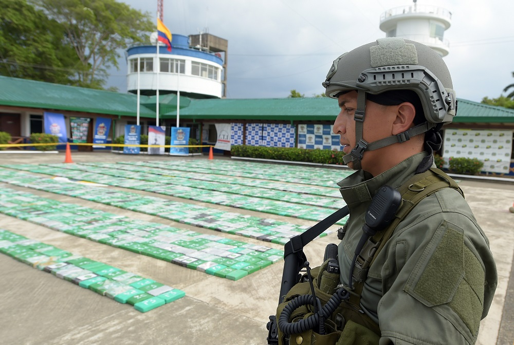Colombian Military Forces Seize 8 Tons of Cocaine