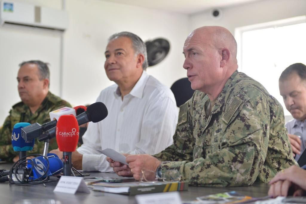 Admiral Tidd Renews U.S. Commitment to Colombia