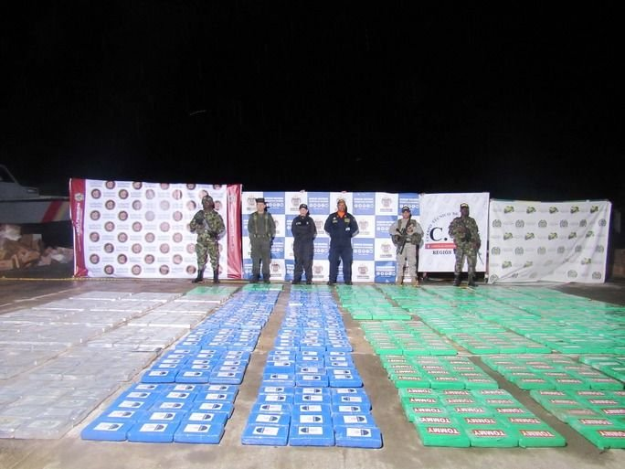 Colombia Openly Fighting Drug Trafficking