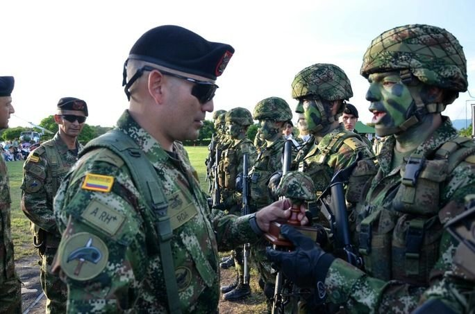 Colombian Ranger Course, 62 Years of Training