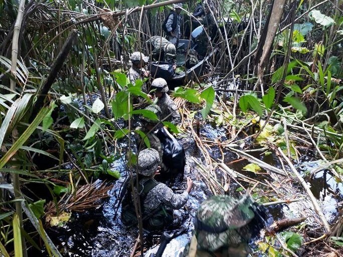Colombian Military Forces Attack Drug Trafficking in Operation Barbudo
