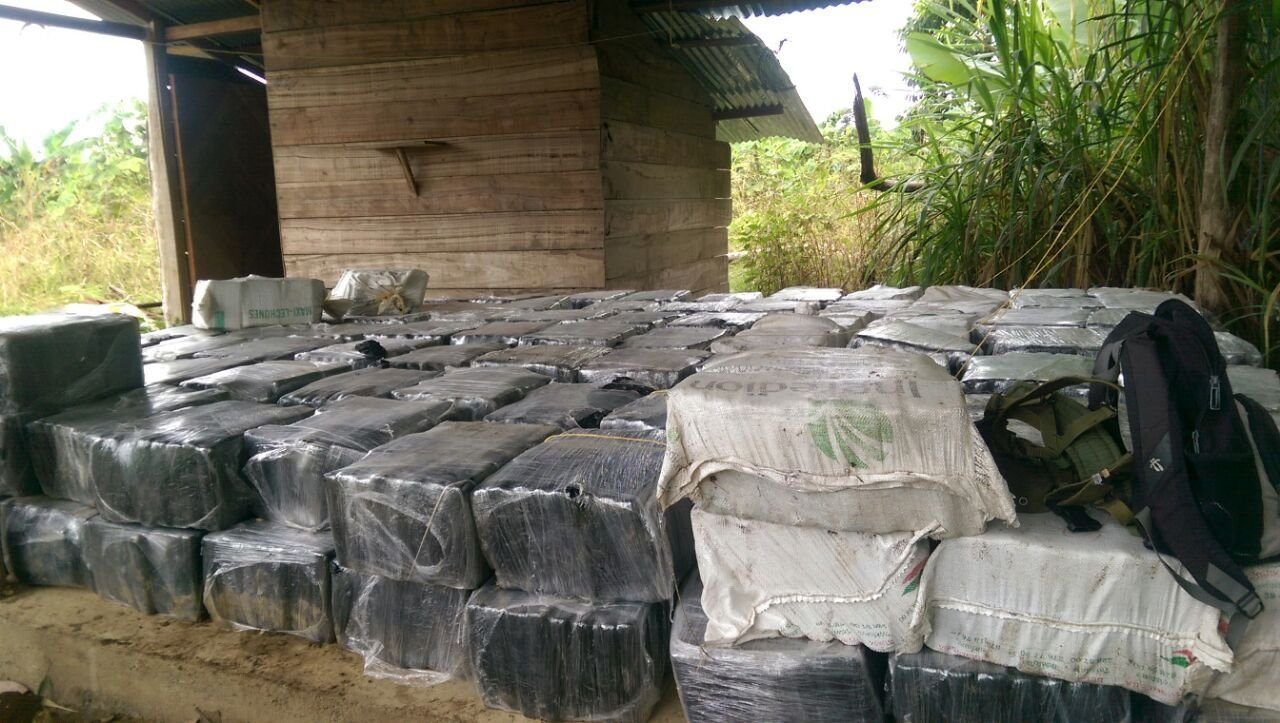 Colombia Makes Largest Cocaine Bust in Nation's History
