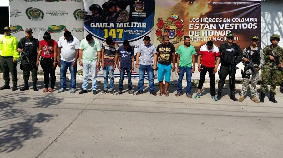 Colombian Armed Forces Capture Clan del Golfo Members