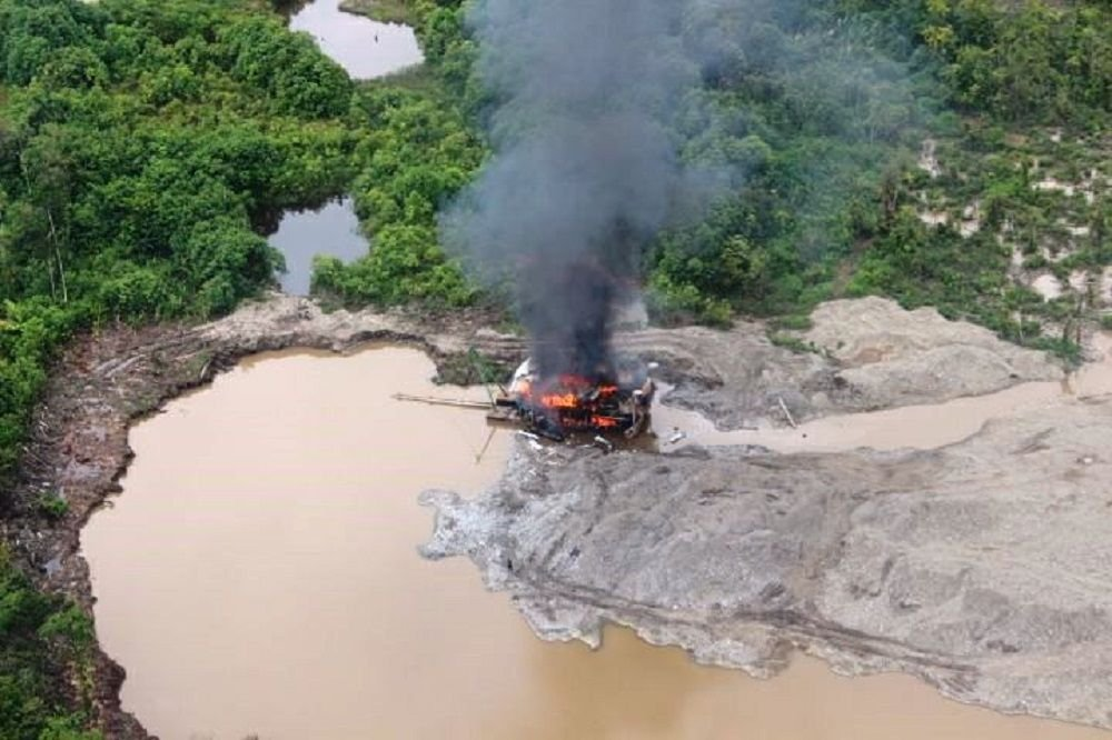 Colombia Combats Illegal Gold Mining