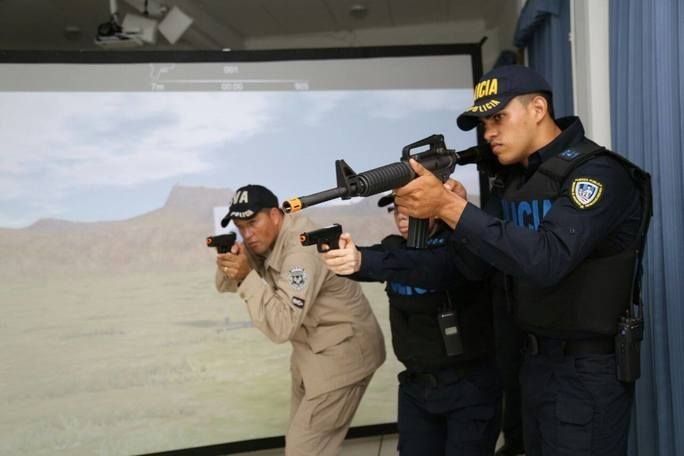 Costa Rica Receives Virtual Shooting Ranges from the United States