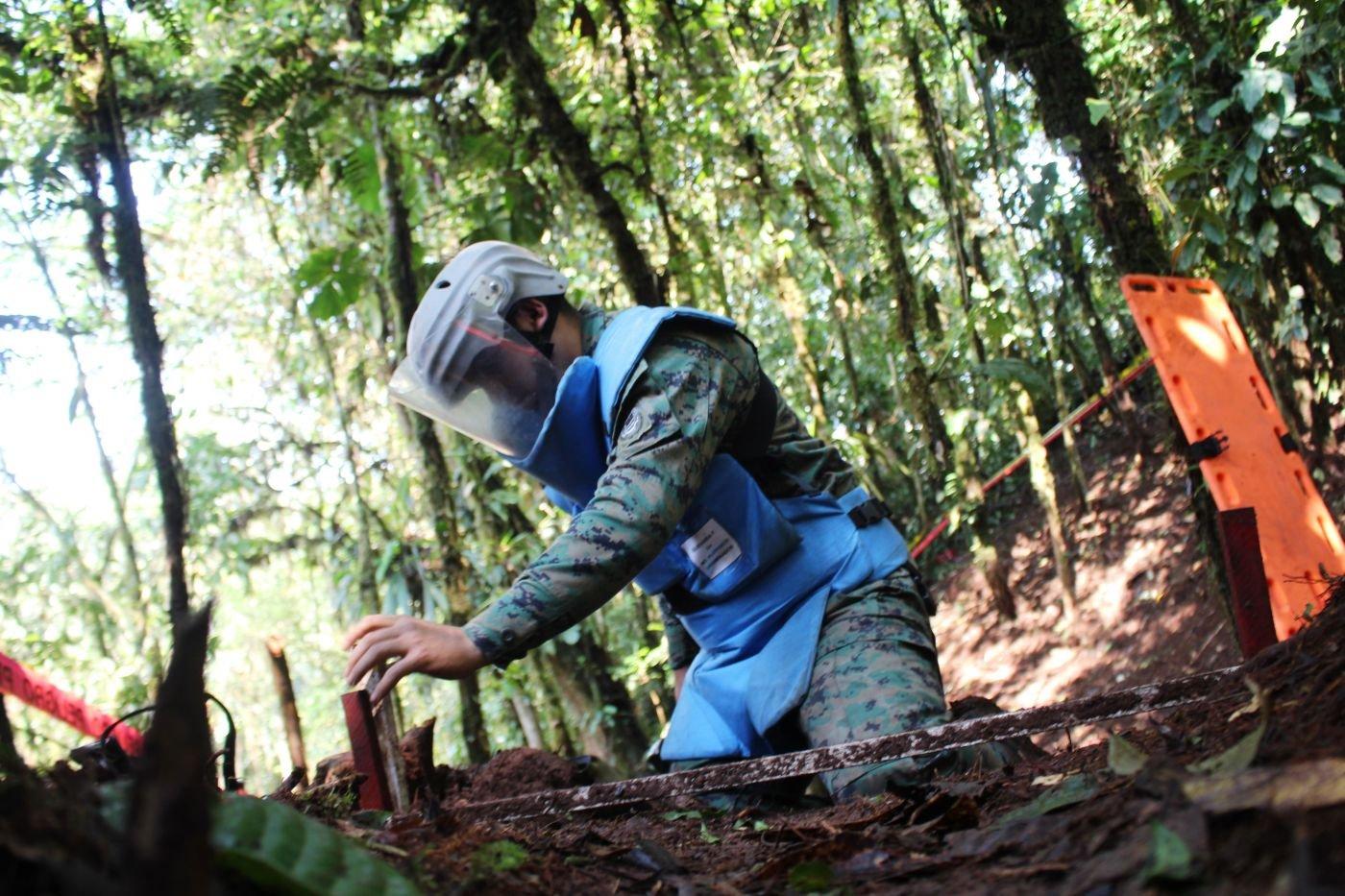 Ecuador and Peru Deactivate Mines along Shared Border