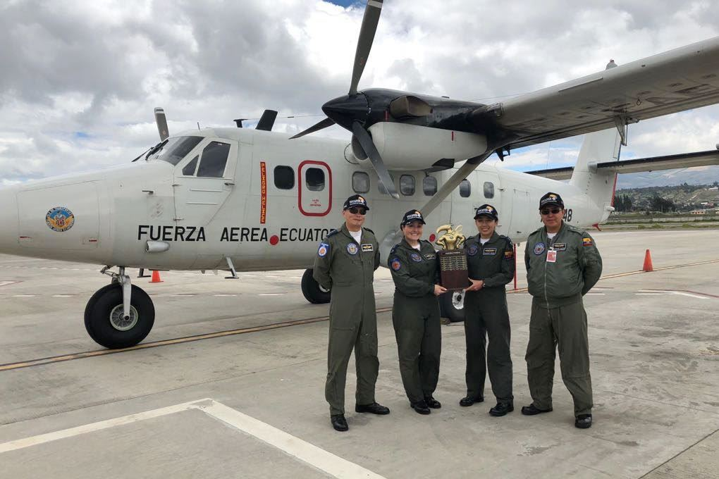 Ecuadorean Air Force Incorporates Female Pilots in its Transport Squadron