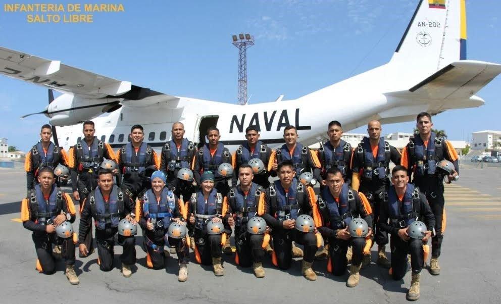 Ecuadorean Navy Graduates Female Paratroopers