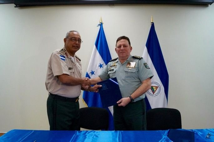 Honduran and Nicaraguan Armies Join Forces in Operation Morazán-Sandino