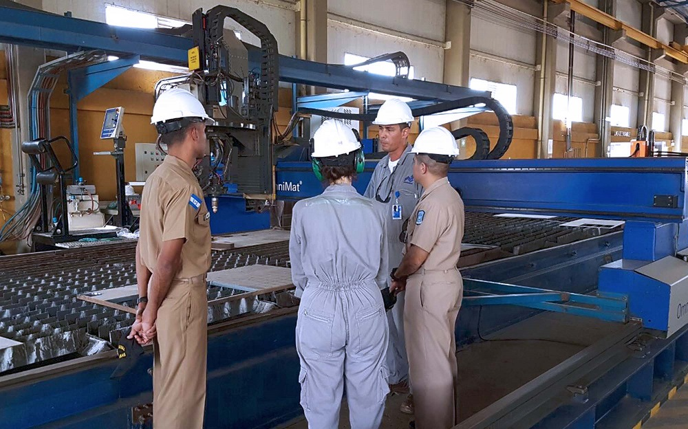 Honduran Officers Earn Master of Naval Engineering Degree