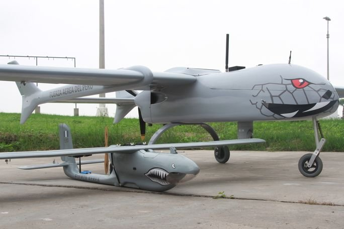 Peruvian Air Force Develops Two New Drones