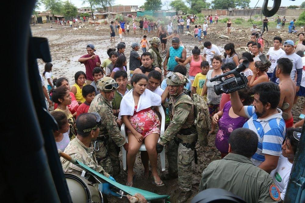Partner Nation Armed Forces Assist Peru after Flooding