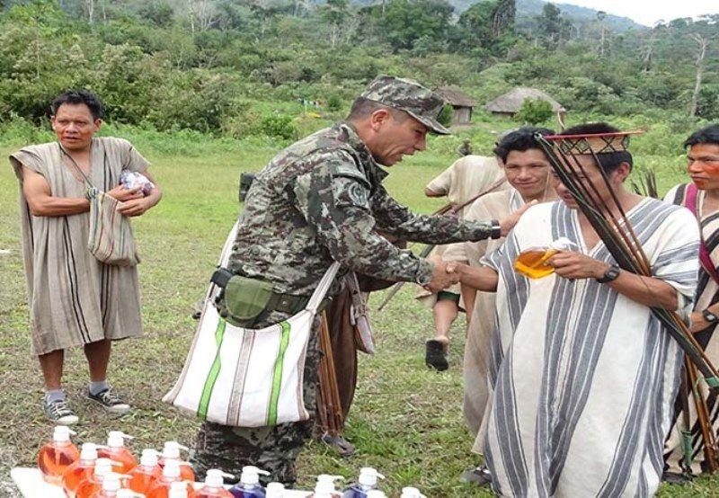 Peruvian Armed Forces Fight Poverty in VRAEM