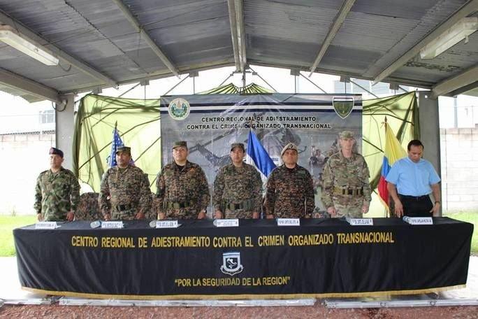 Partner Nation Armed Forces United Against Transnational Crime