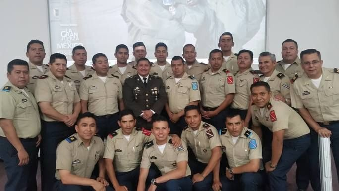 Armed Forces of El Salvador and Mexico Promote Humanitarian Principles
