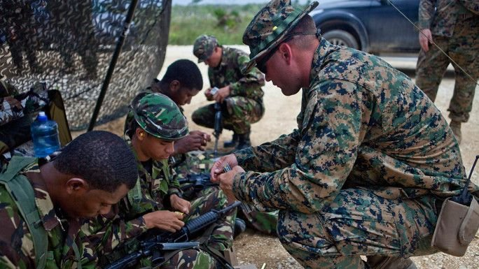 Special Purpose Marine Air-Ground Task Force-SOUTHCOM Conduct Security Cooperation Training across Central America