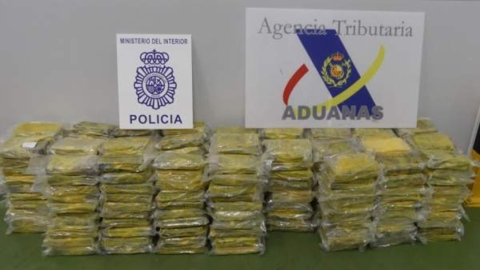 Colombian Armed Forces Seize Cocaine in Spain