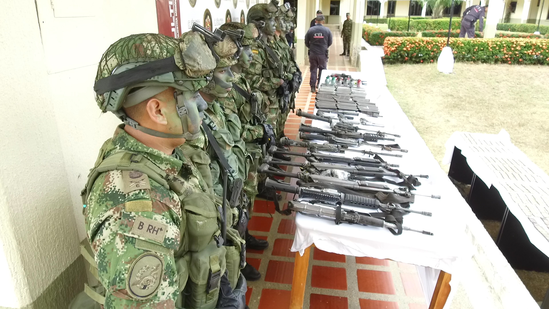 Colombian Air Force Bombs ELN Campsite