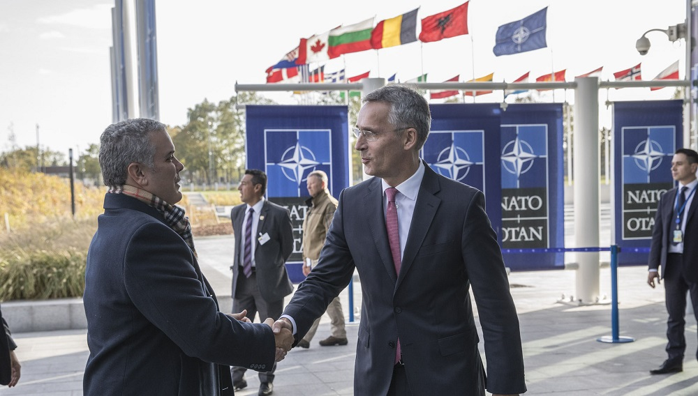 NATO Welcomes Colombia
