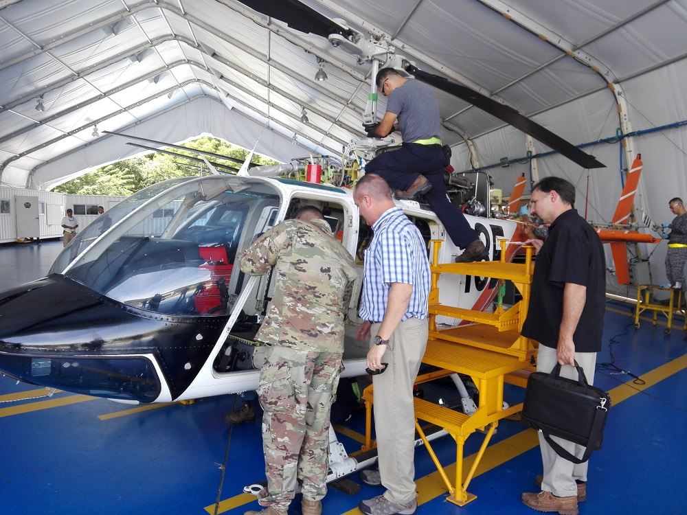 Colombian Helicopter School Welcomes SOUTHCOM Delegation