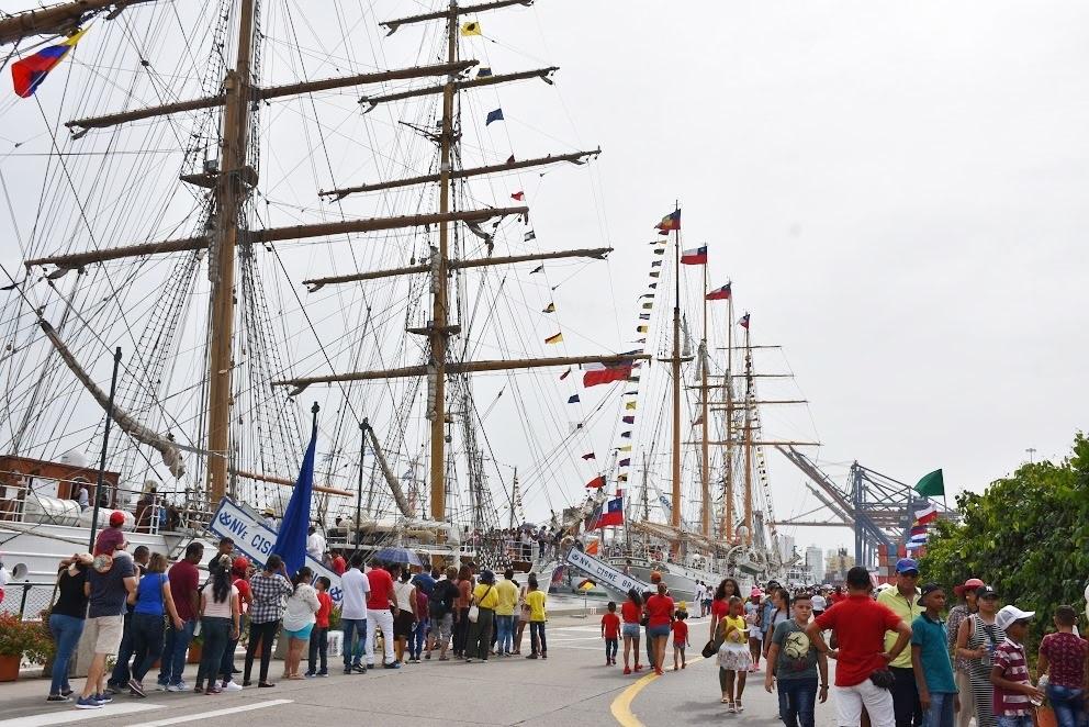 Sail Cartagena de Indias 2018 Brings Harmony Among Partner Nations
