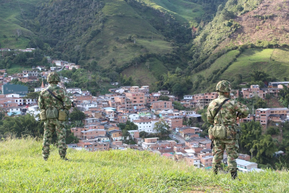 Colombian Army Dismantles Three Cocaine Labs