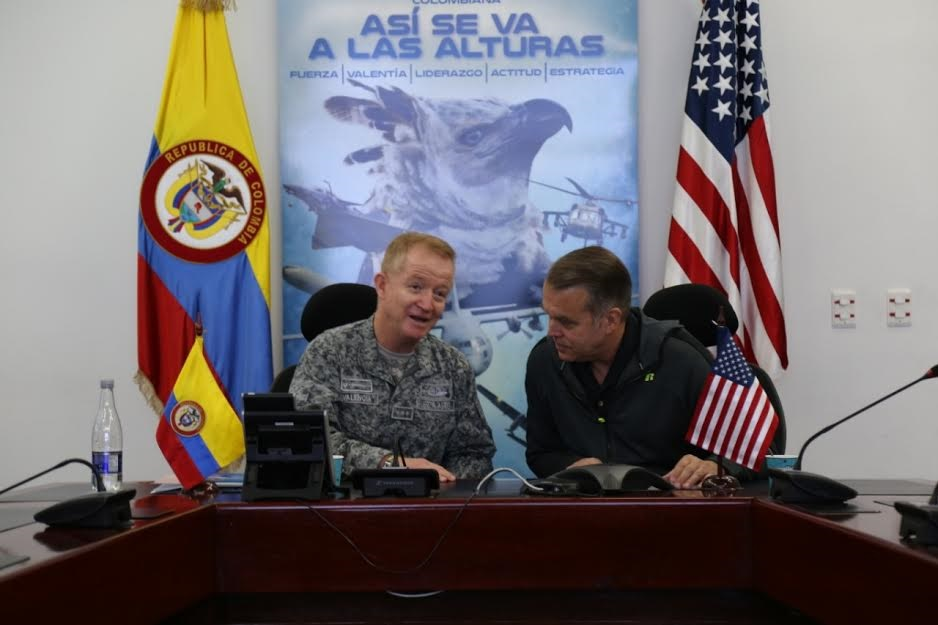 Colombia, US Review Counter Narcotrafficking Air Program