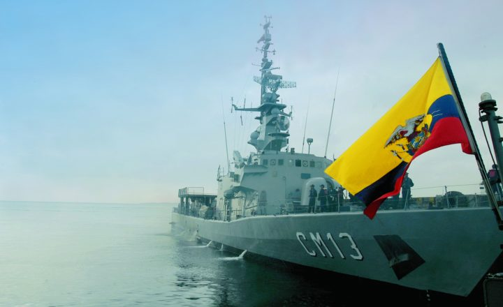 Ecuador Takes Up Military Maneuvers at UNITAS LIX-18