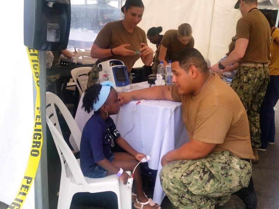US Hospital Ship USNS Comfort Helps Thousands of Ecuadoreans