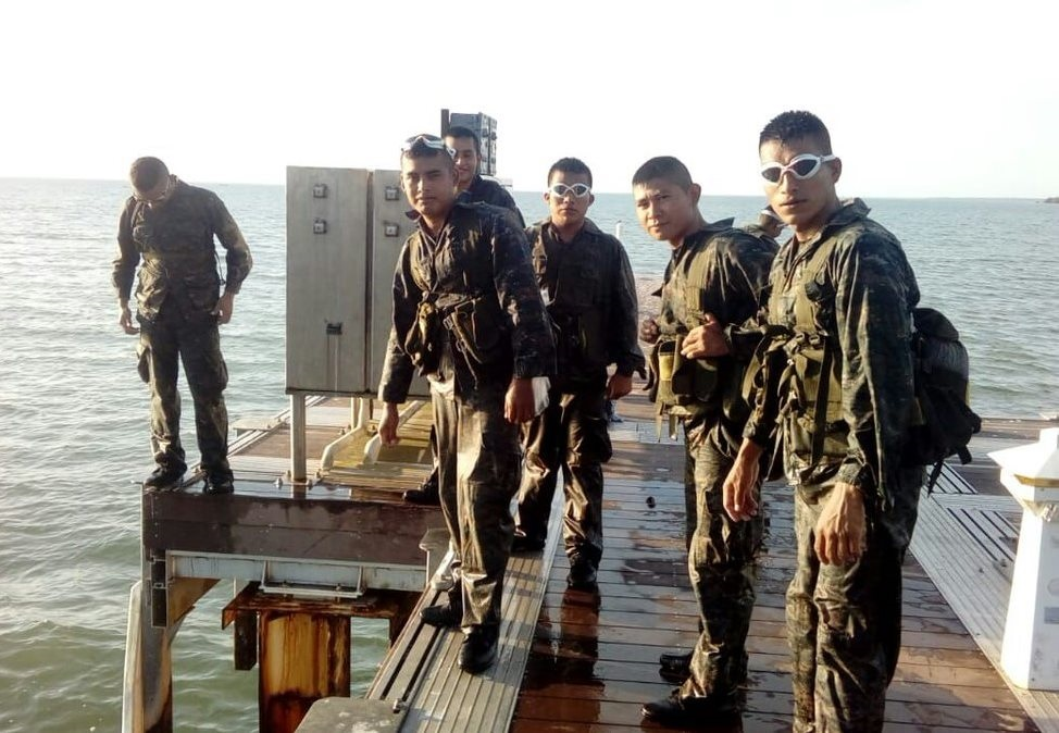 Guatemalan Amphibious Troops Strengthen Skills
