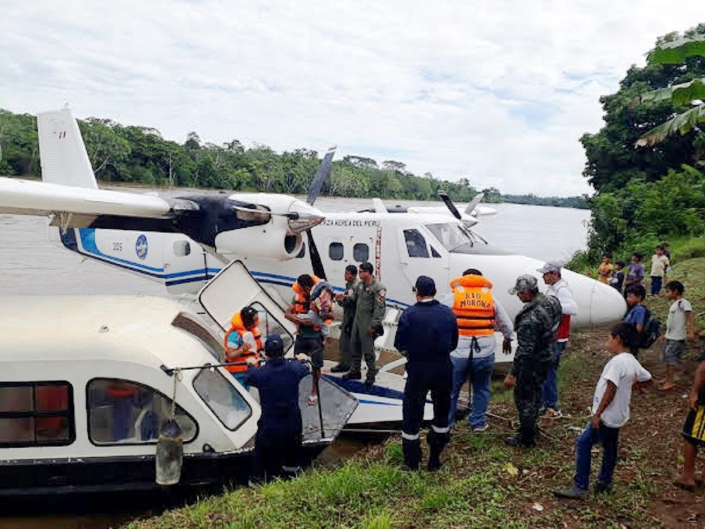 Peruvian Air Force Kicks Off Aid Programs for Vulnerable Populations