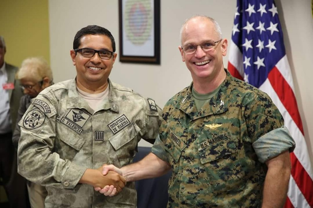 Peruvian Navy and MARFORSOUTH Plan Operations